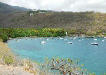 Vue sur l'Anse à la Barque, Guadeloupe