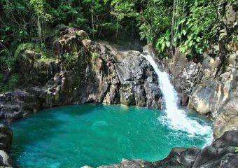 Vue sur le Saut d'Acomat, Guadeloupe