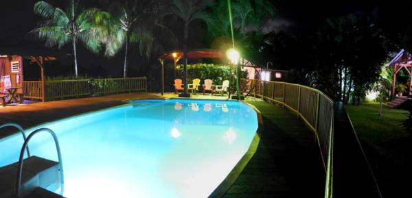 L'espace piscine de nos locations en Guadeloupe
