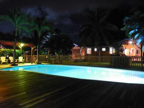 Nocturnal atmosphere at Lamateliane lodges