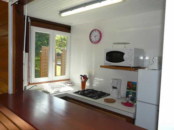 The fully equipped kitchen, Lamateliane lodgings