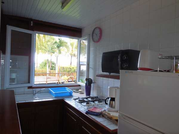 The kitchen of your holiday rental in Guadeloupe