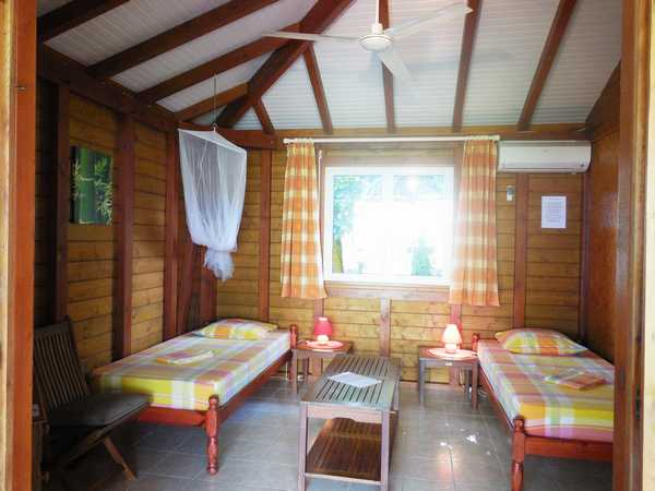 The living room of the lodging arranged in a real 2nd room